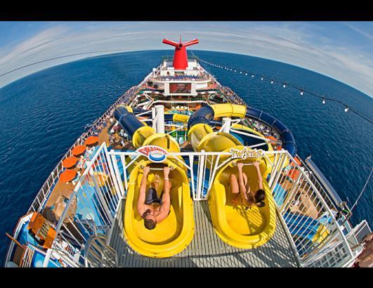 PHOTOS Worlds Best Cruise Ship Amenities Photos ABC News - Nickelodeon cruise ships