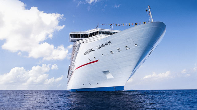 PHOTO: Carnival Sunshine will sail in Europe from April to October 2013.