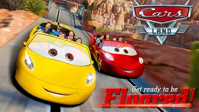 PHOTO: Cars Land promotional image