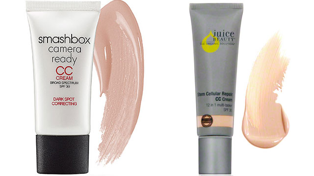 PHOTO: Smashbox CC cream, left, and Juice Beautys Stem Cellular Repair CC Cream range from $25 - $45.