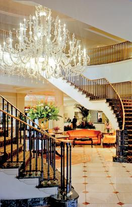 Lavish Hotel Lobbies
