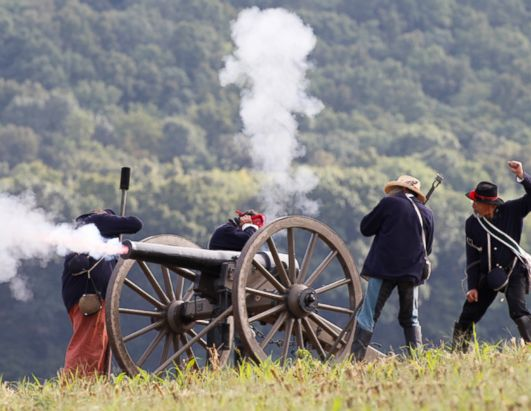 150th Anniversary Civil War Reenactment