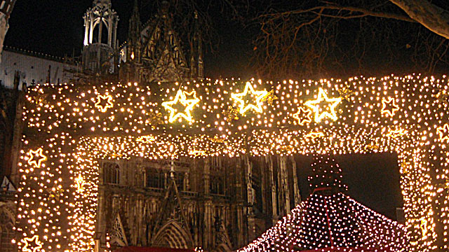 PHOTO: Cologne hosts not one but seven Christmas markets, each with a different theme.