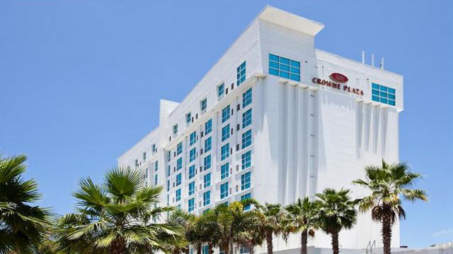 PHOTO: The exterior of the Crowne Plaza Tampa Westshore in Tampa, Fl.