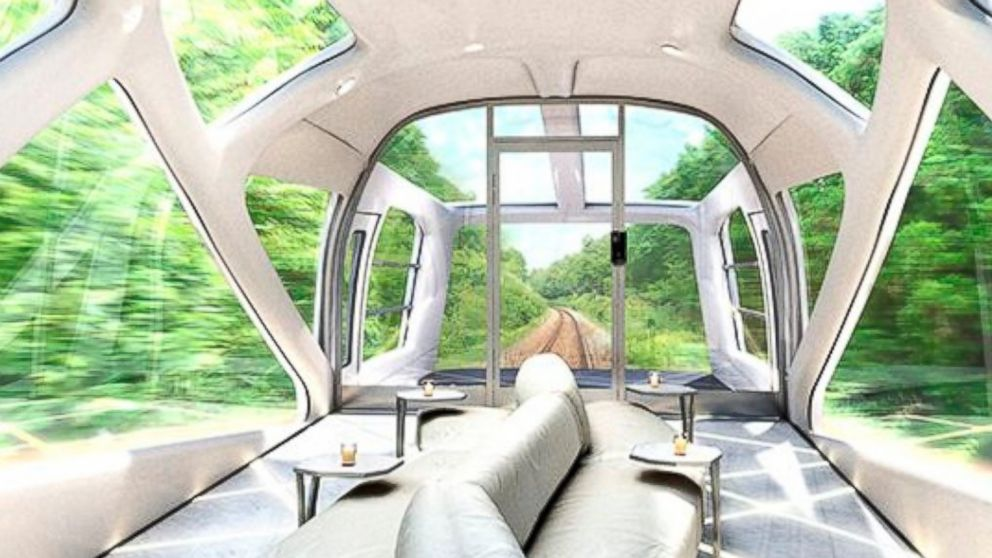PHOTO: JR East Railways in Japan has designed the Cruise Train, a luxurious passenger train.