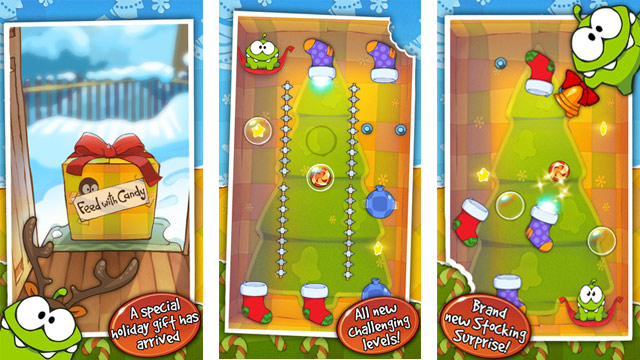 PHOTO: <p> Cut The Rope: Holiday Gift