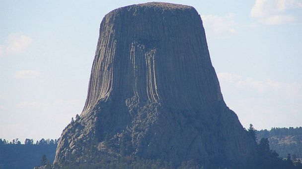 PHOTO: Another natural landmark that will see hundreds of thousands of visitors this year is Devils Tower in the Black Hills of Wyoming.