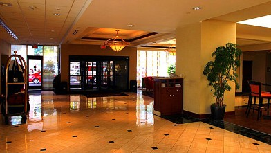 PHOTO: The Charlotte Marriott Executive Park is the home of delegates from Georgia during the 2012 Democratic National Convention in Charlotte, N.C.