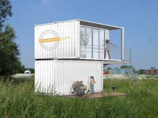 Photos: Shipping Container Hotel Room