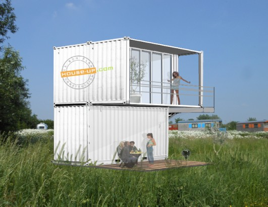 French Shipping Container Hotel