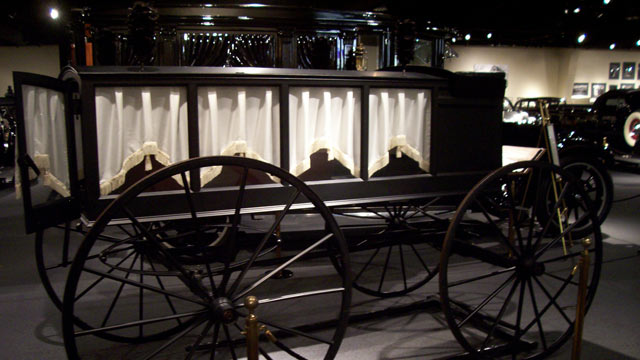 PHOTO: The National Museum of Funeral History, Houston