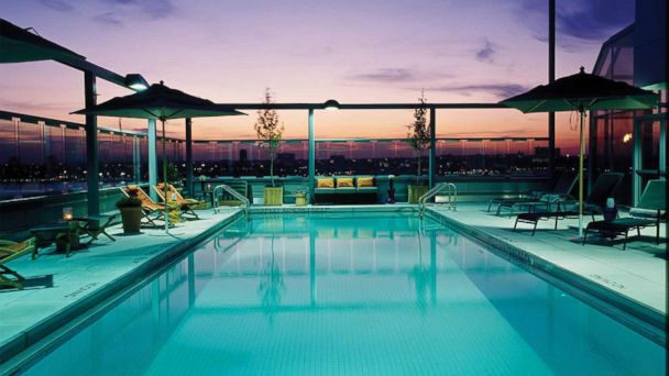 PHOTO: New Yorks Hotel Gansevoort is situated within the citys fashionable Meatpacking District and is a great choice for young children, despite its reputation as a party hotel.