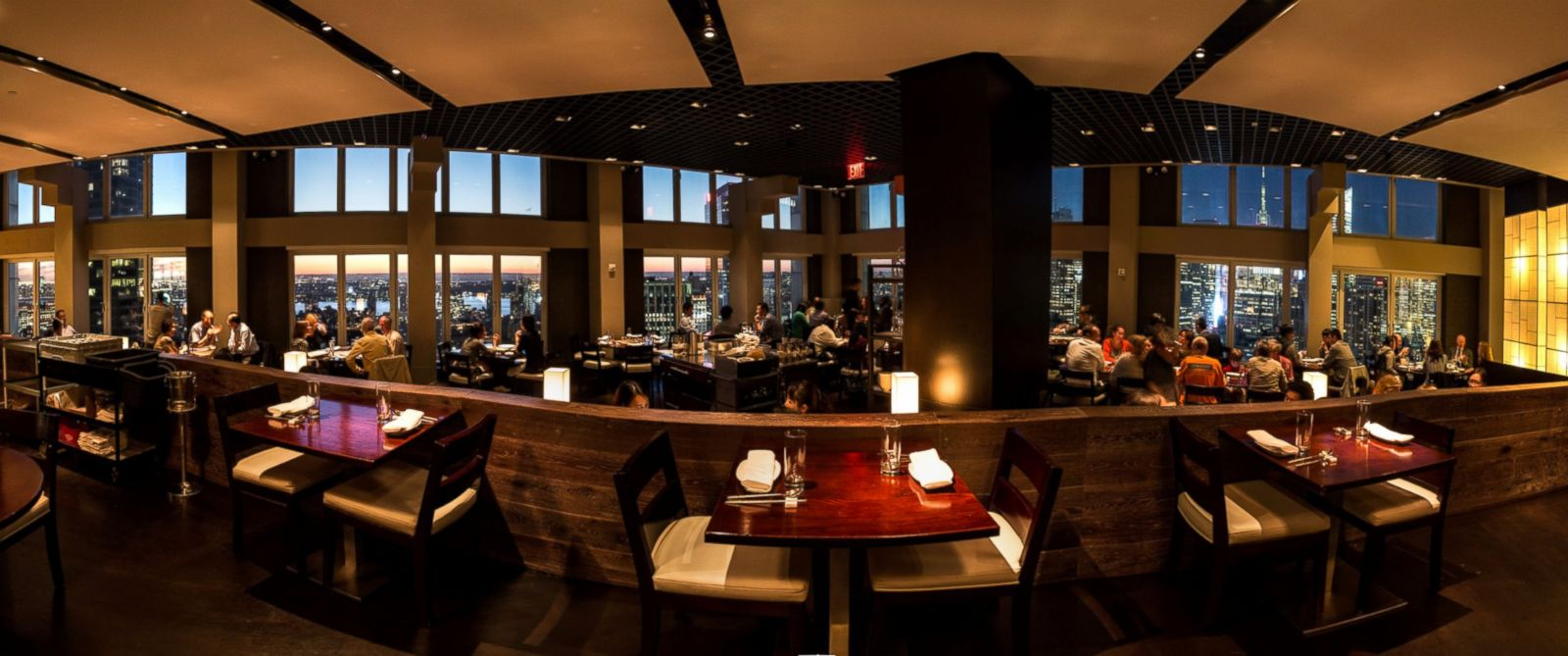 "PHOTO: Gaonnuri is a ""hidden"" Korean restaurant in a penthouse in New York City midtown."