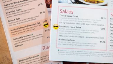 PHOTO: Gatwick Airport has teamed up with a nutritionist to find the happiest food at the airport.