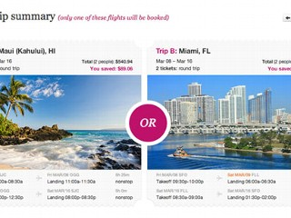 New Flight Booking Site Lets Users 'Pick Two, Get One'