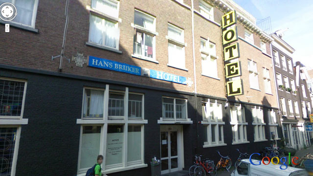PHOTO: No room at the Hans Brinker Budget Hostel in Amsterdam costs more than 25 euro per night.