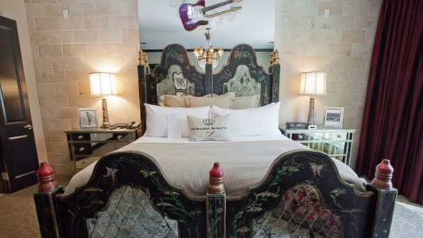 PHOTO: Rock Star Magnificent Suite at Hotel ZaZa, Dallas, Tx.