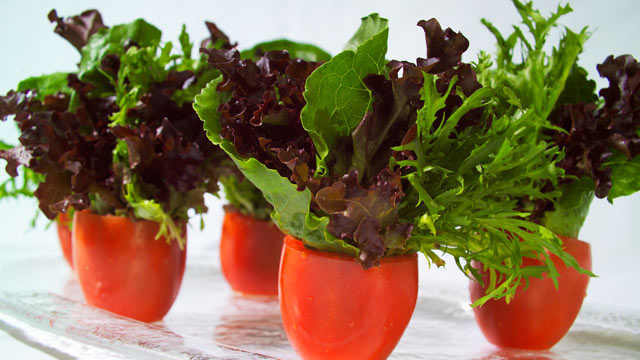 PHOTO: Try This at Home: Salad Bouquets