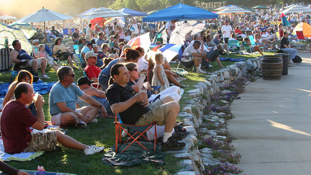 PHOTO: In Murphys, California, Ironstone Winery is the go-to spot for annual fireworks, an all-ages afternoon party and outdoor concert.