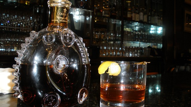 "PHOTO: The $10,000 ""Key to the City"" cocktail is available at the Windsor Court Hotel in New Orleans for a limited time."