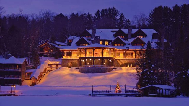 PHOTO: The Lake Placid Lodge's