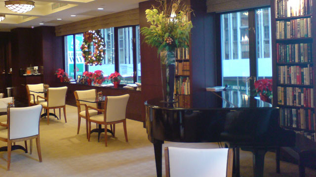 PHOTO: At this New York City hotel, each room is based on a different category of the Dewey Decimal System.