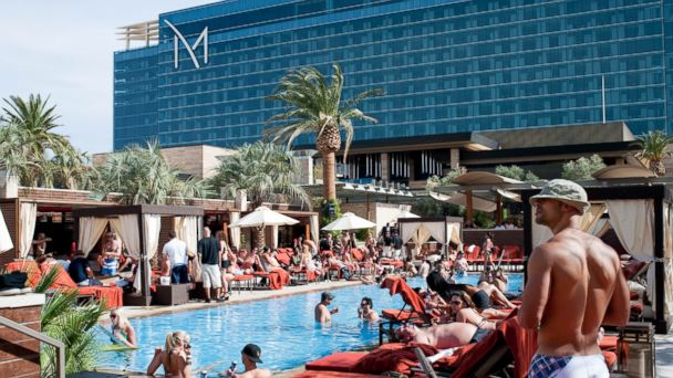 PHOTO: DayDream Pool Club at the M Resort Spa & Casino, Las Vegas.