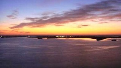PHOTO: This is a sunset view from a Miami vacation rental from Flipkey.com.