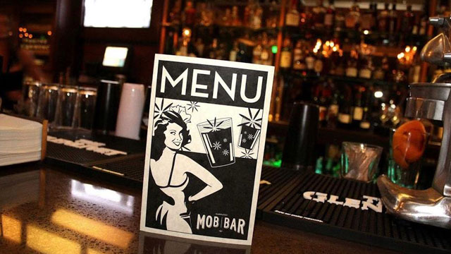 PHOTO: Mob Bar.