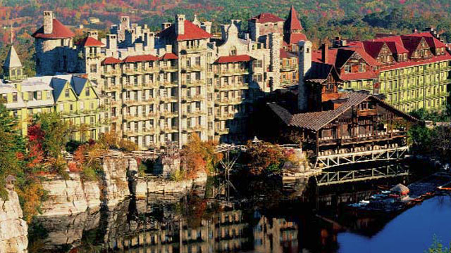 PHOTO: Normally it's a stately spa retreat, but on Halloween week, Mohonk Mountain turns into the be-all end-all of haunted mansions-complete with ghost hunts and live timber wolves. Overnight packages are the best way to be completely and thoroughly spoo
