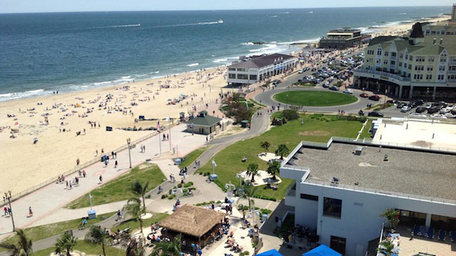 PHOTO: Monmouth County Beach View.