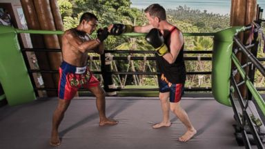 PHOTO: Muay Thai kickboxing lessons are the latest way travelers are staying lean and simultaneously soaking up local culture.
