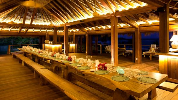 ht necker island dining  mi 130705 16x9 608 For 60K per Night, Richard Bransons Island Can Be Yours Again