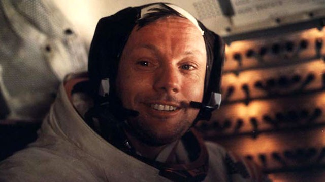 PHOTO: Neil Armstrong on Appollo 11