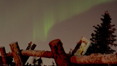 PHOTO: The Aurora Borealis are best viewed December to March.