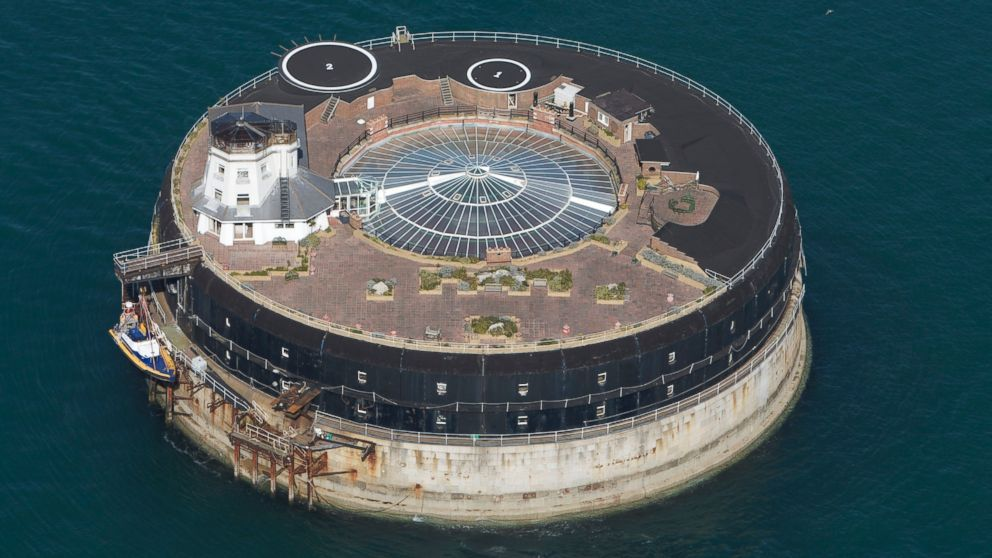 PHOTO: No Mans Fort; a man-made island in the middle of the Solent, opened its doors last week after undergoing an extensive renovation.
