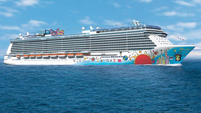 PHOTO: Norwegian Breakaway