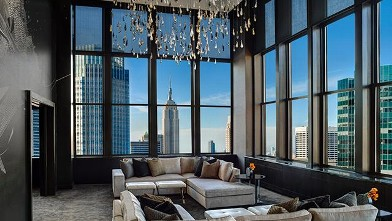 Hotel Suite of the Week: Jewel and Champagne at The Palace