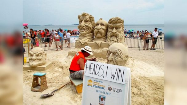 PHOTO: Revere Beach National Sand Sculpting Festival, July 18-20
