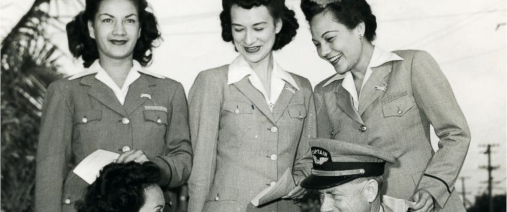 PHOTO: In 1943 the first Hawaiian Airlines stewardesses were hired.