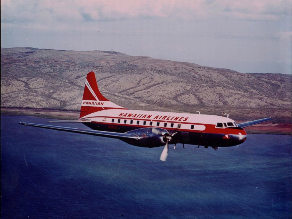 PHOTO: 1952 brought the first pressurized, air-conditioned cabin service with 44-passenger Convair 340s, costing $520,000 each.