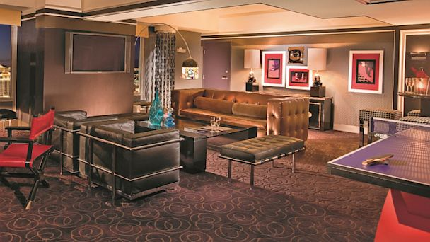 PHOTO: The insouciant swagger of Eighties rock star culture might have almost disappeared from the Sunset Strip, but Planet Hollywood in Las Vegas pays homage to those glory days in its Boulevard Suites.