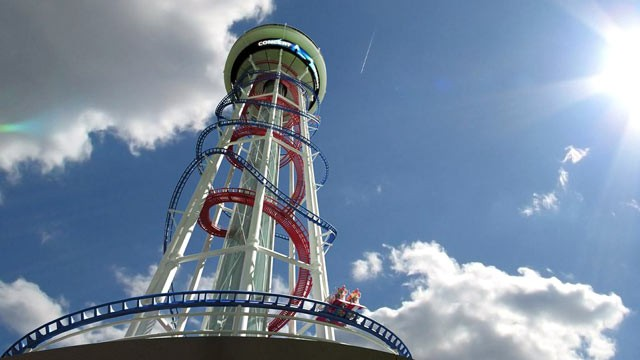 PHOTO: A rendering of the proposed Polercoaster. The Polercoaster structure would be 650 feet tall, according to a filing with the FAA.