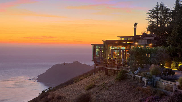 PHOTO: Post Ranch Inn is an adults-only getaway perched on a cliff of Big Sur overlooking the Pacific Ocean.