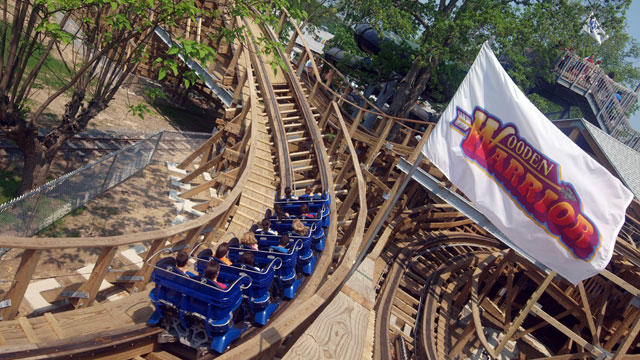 PHOTO: Wooden Warrior at Quassy