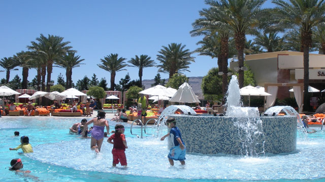 PHOTO: Vegas and kids don't often mix well. But Red Rock Casino Resort & Spa is a truly family-friendly hotel.