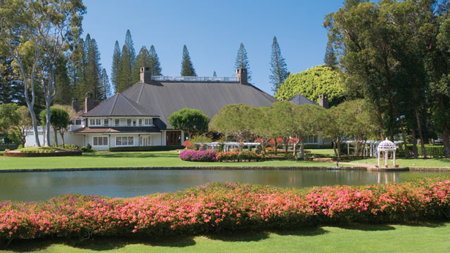 PHOTO: Four Seasons Hotel Lanai is shown in this file photo.