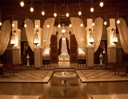 World's Most-Lavish Hotel Lobbies