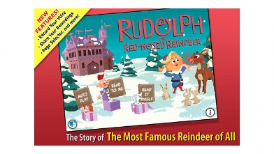 PHOTO: Rudolph The Red-Nosed Reindeer