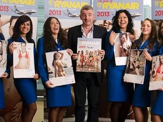 Photos: Ryanair Women Show Skin for Charity